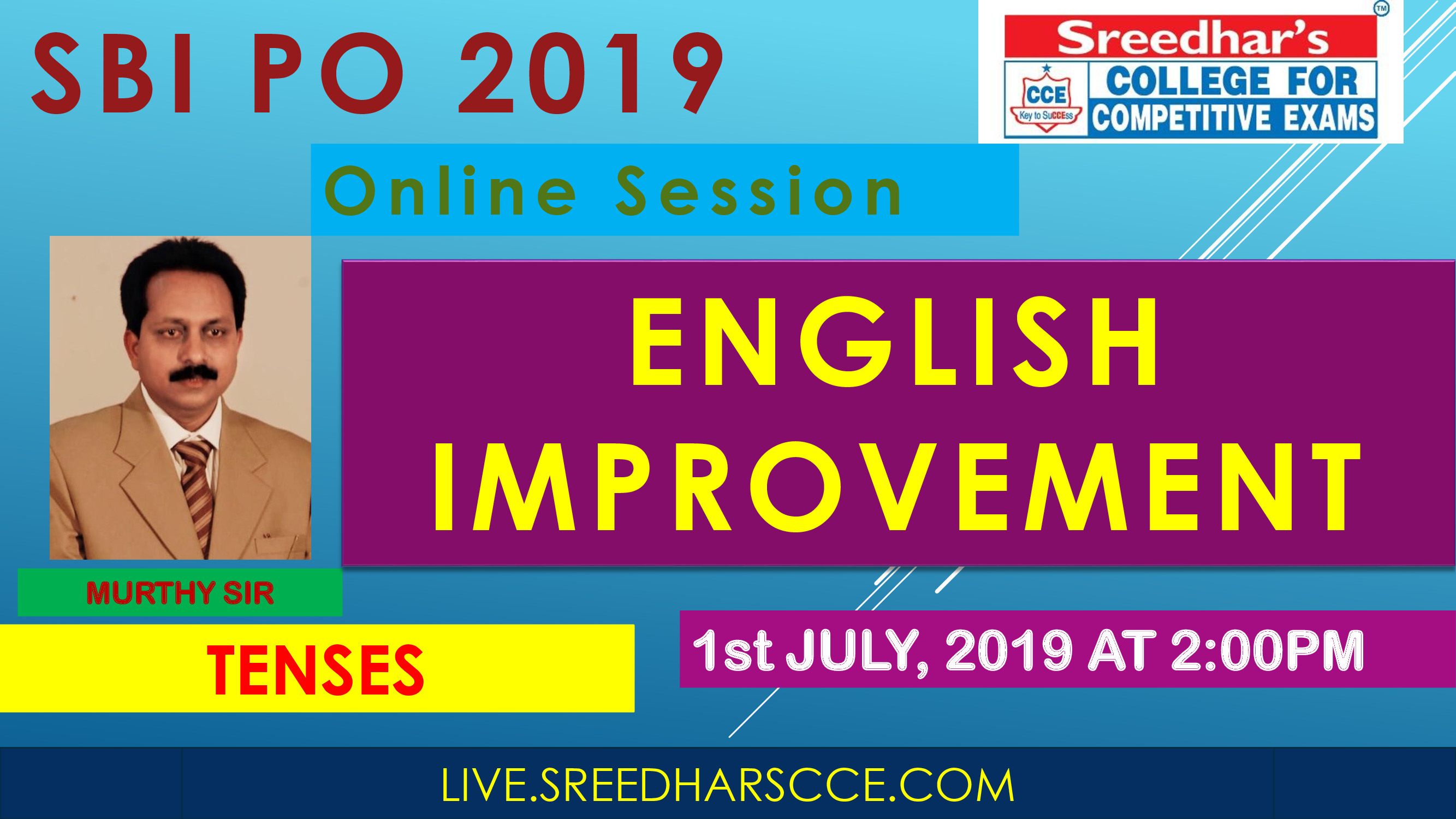 Class Session 17 Eglish Improvement | By Murthy Sir ( Tenses Excercise )