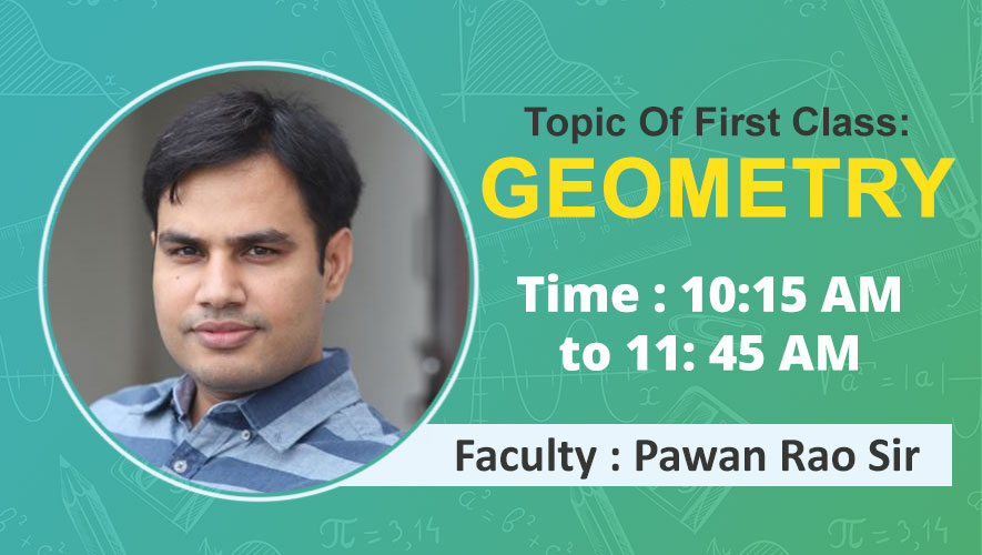 Session 01 | Geometry by Pawan Rao sir l Class Off