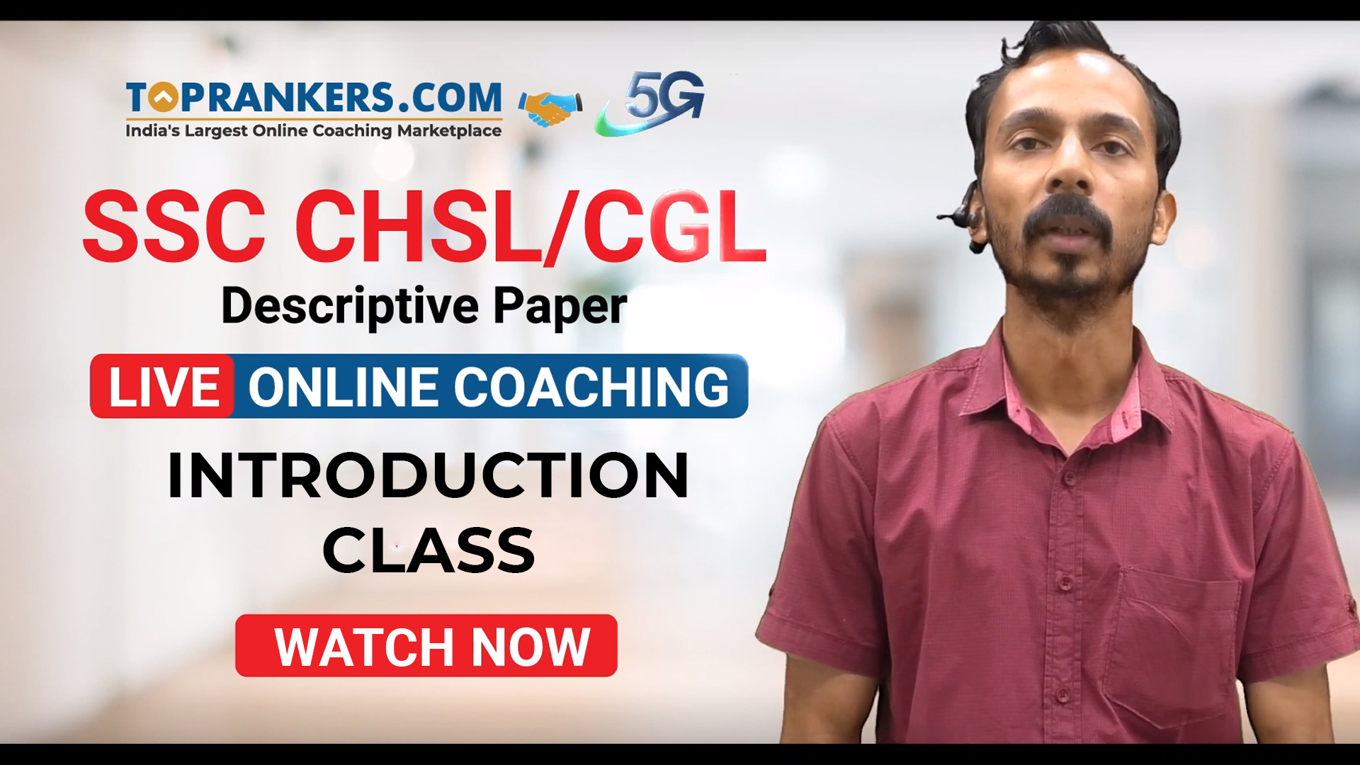 Session 2 Introduction Class for SSC CHSL / CGL Descrptive Classes