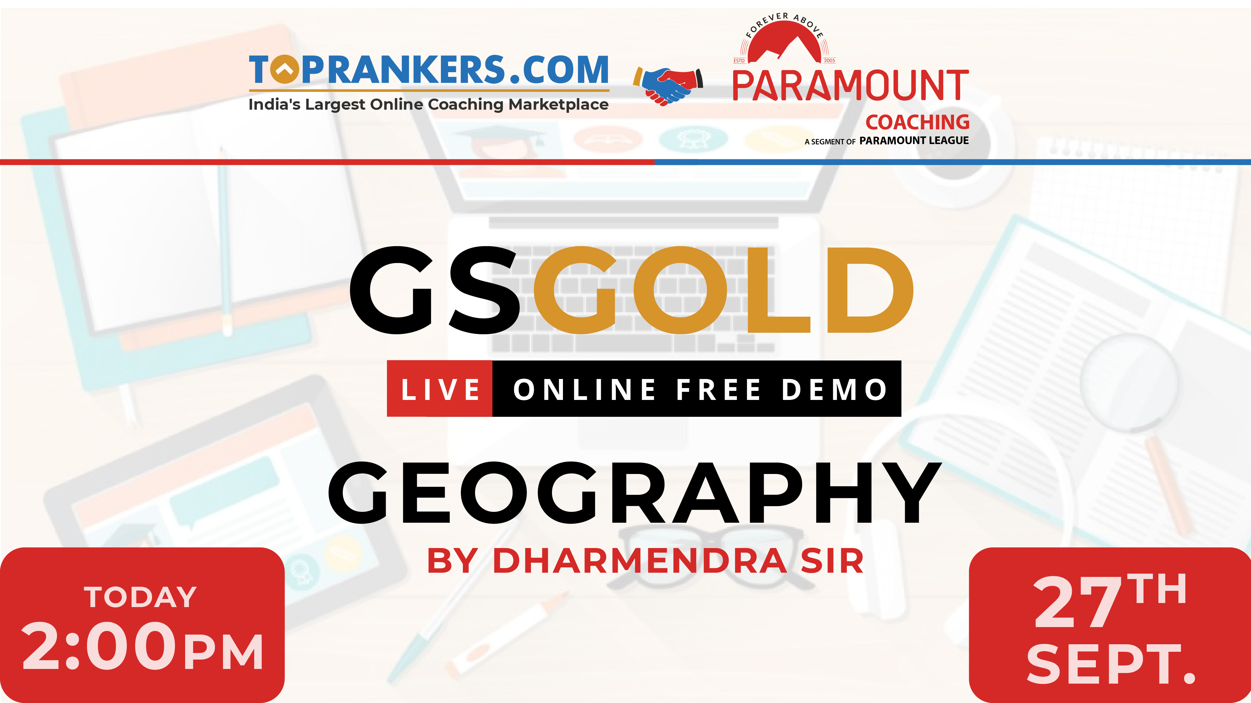 Demo Session 01| Geography by Dharmendra Sir