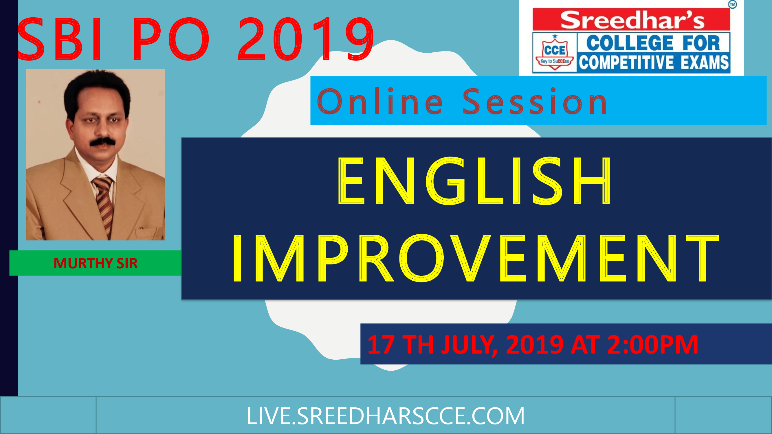 Class Session 27 English Improvement | By Murthy Sir