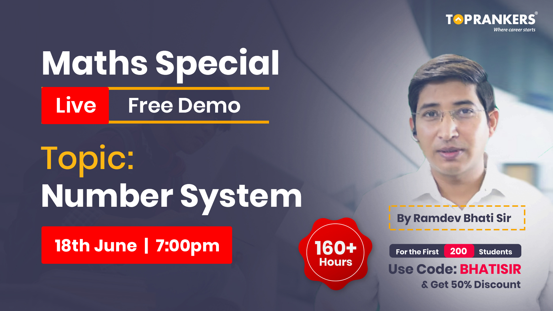 Demo Session 4 || Number System || By Ramdev Bhati Sir