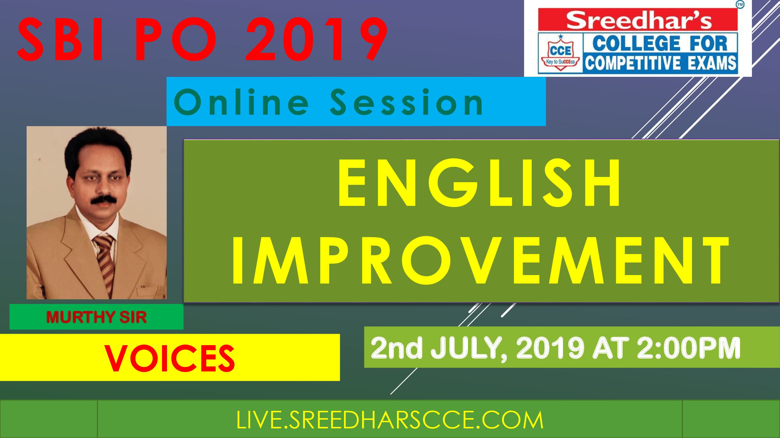 Class Session 18 Eglish Improvement | By Murthy Sir ( Voices )