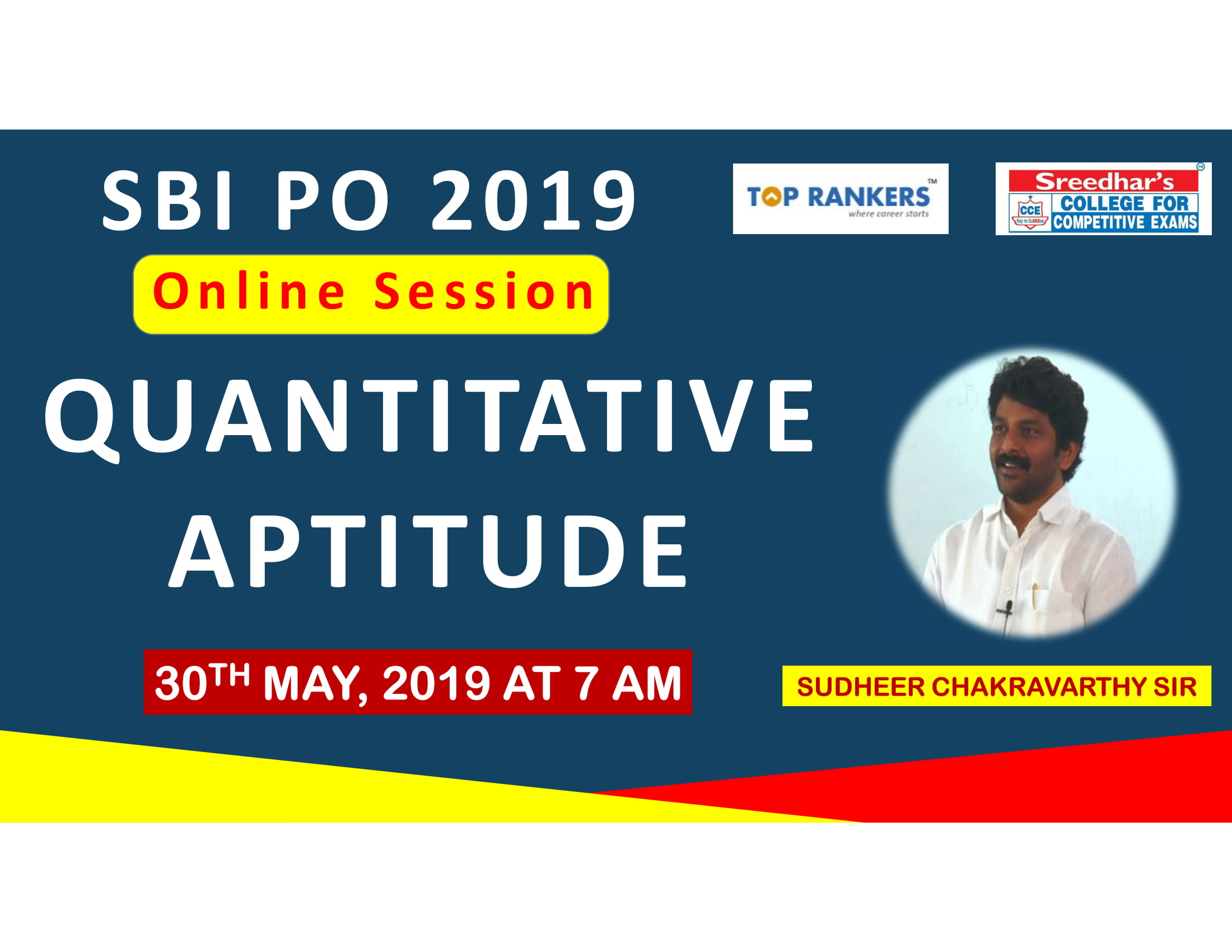 Class Session 4 Quantative Aptitude | By Sudheer Chakravarthy Sir