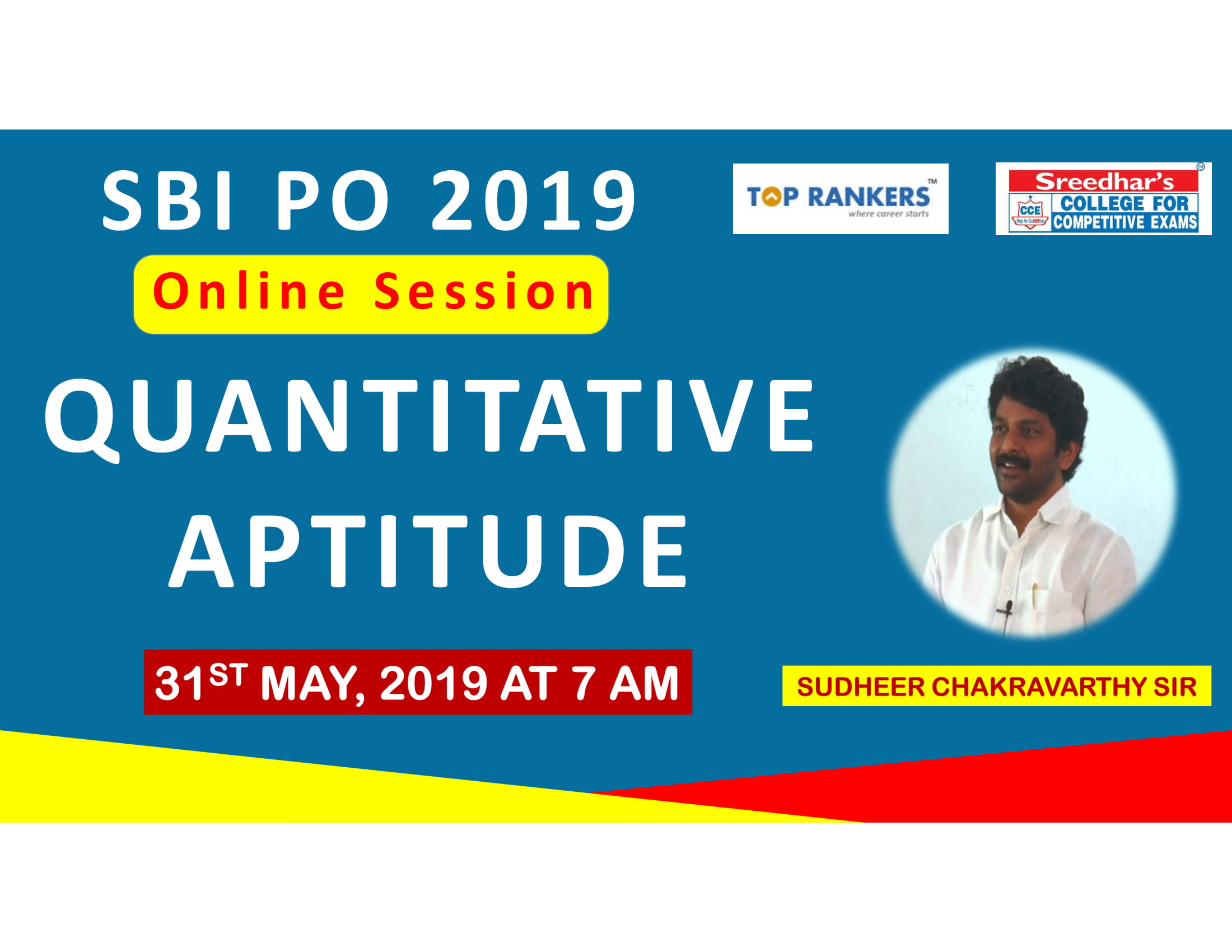 Class Session 5 Quantative Aptitude | By Sudheer Chakravarthy Sir