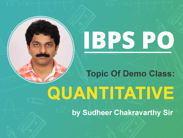 Session 01 | Quantitative Aptitude | Problem on Ages by Sudheer sir