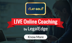 CLAT Gold | Legal Aptitude | Current Legal Knowledge October