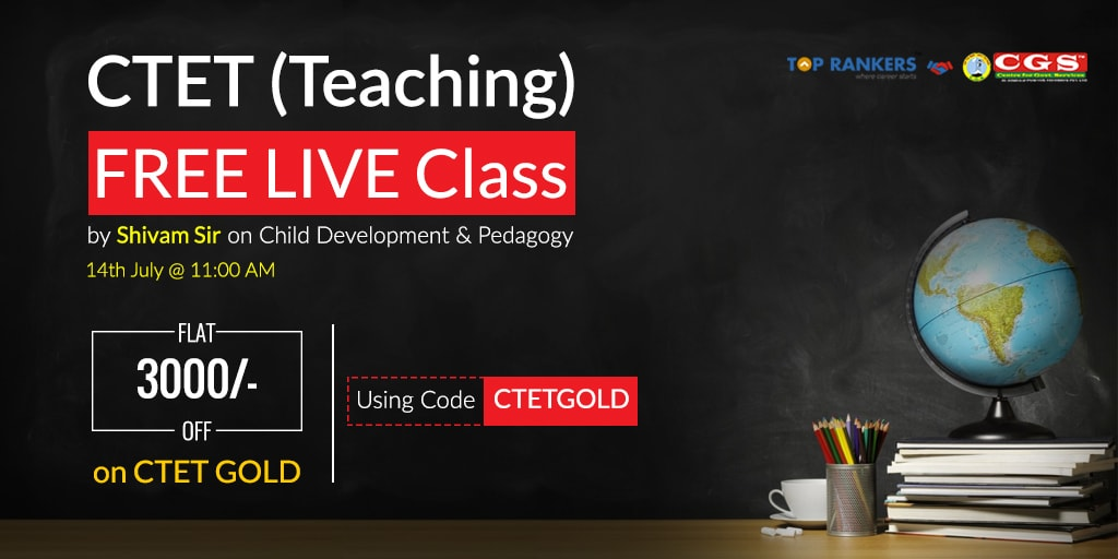 CTET Gold | Child Development & Pedagogy