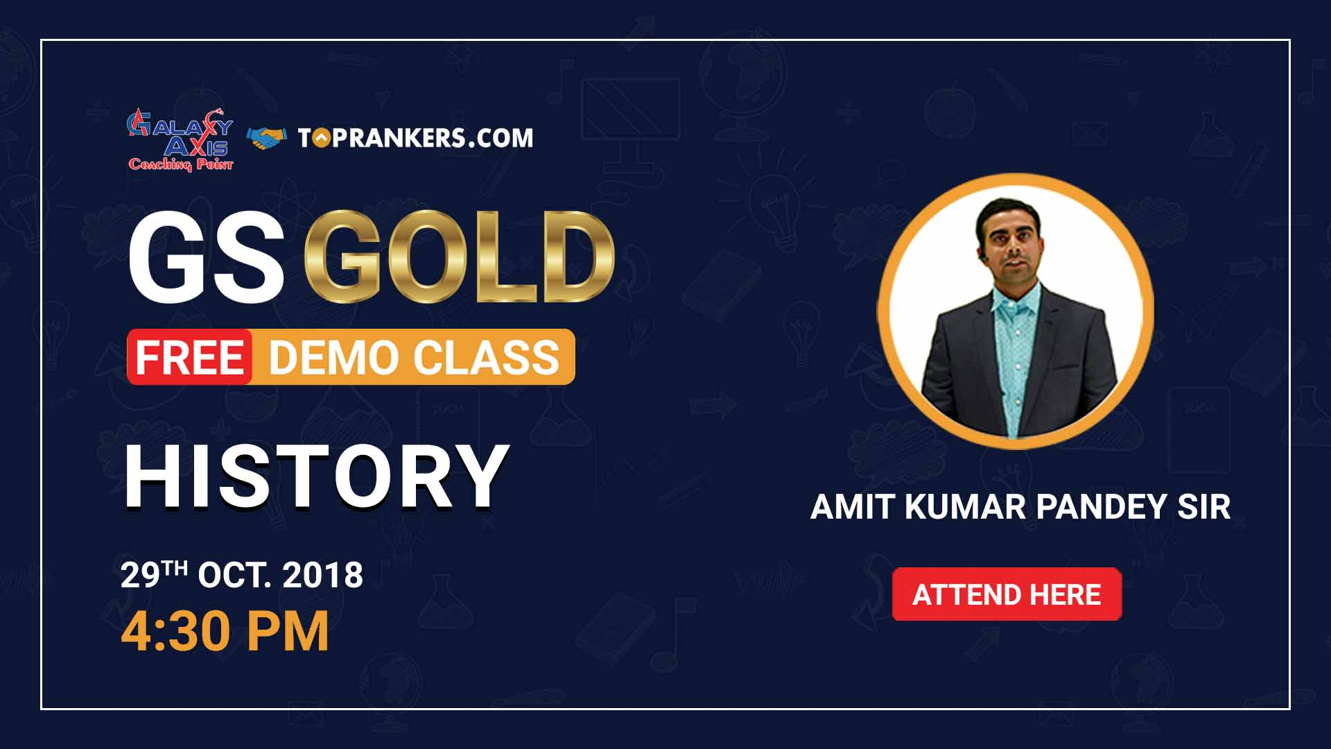 History by Amit Pandey Sir | GS Gold