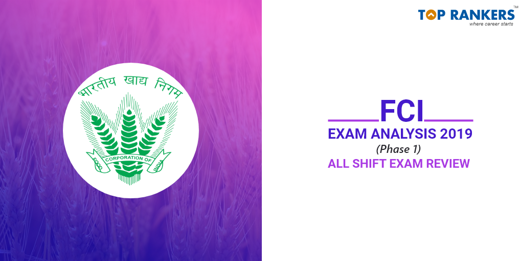 FCI Manager Exam Analysis