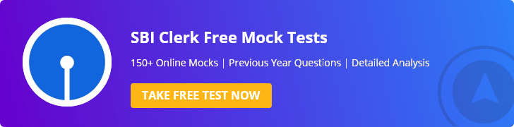 sbi clerk mock test series