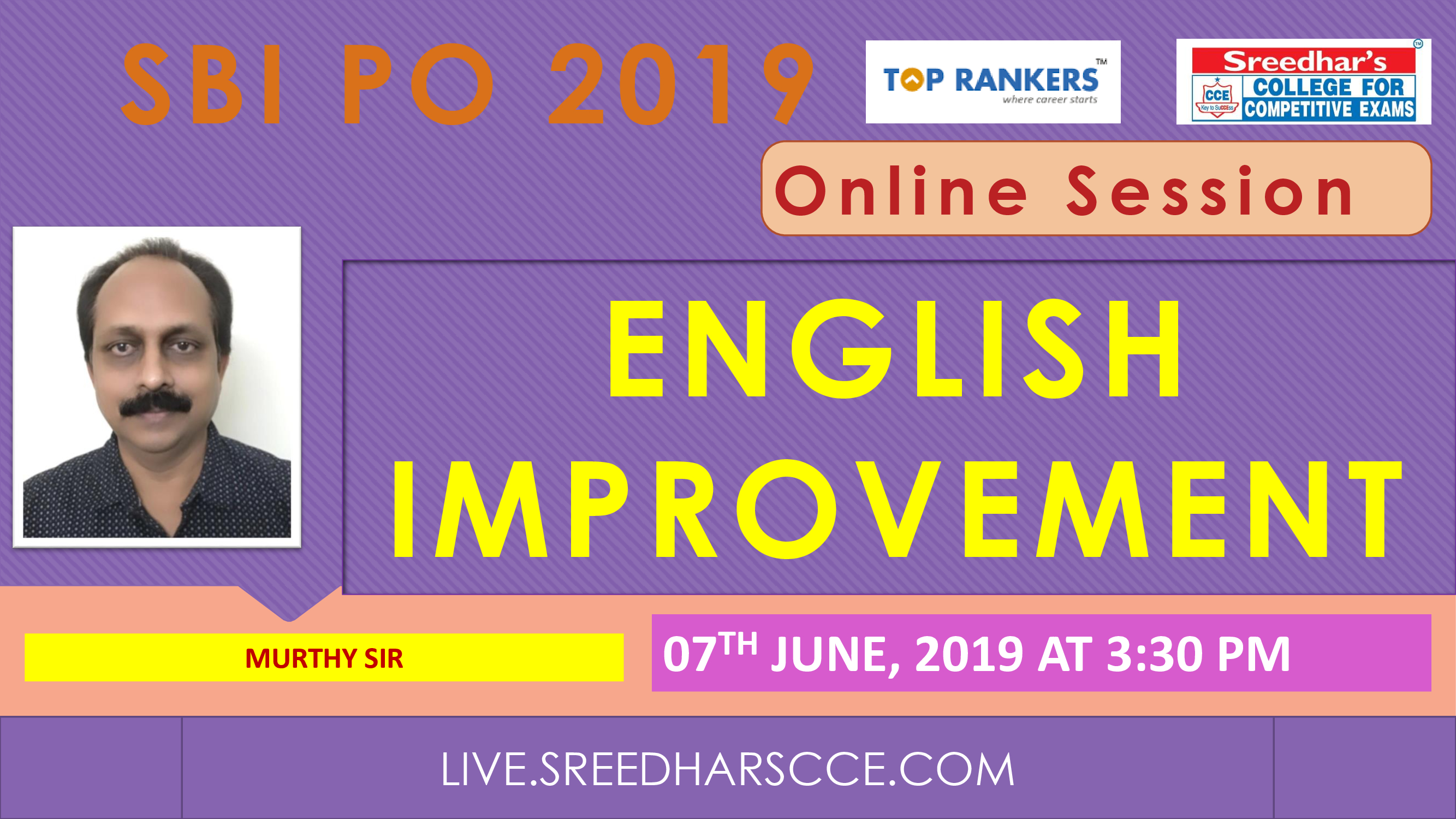 Class Session 2 Eglish Improvement | By Murthy Sir