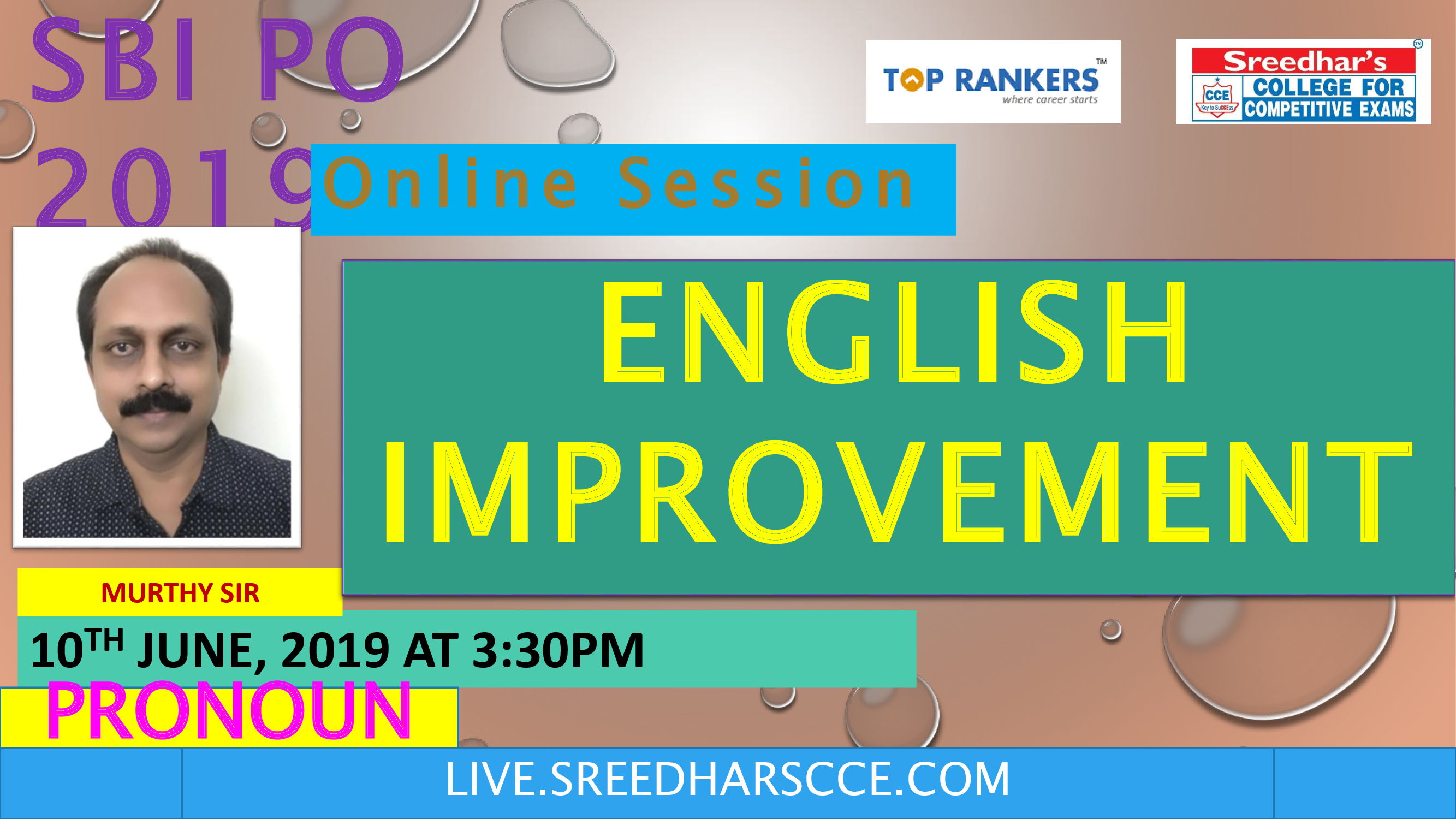 Class Session 03 Eglish Improvement | By Murthy Sir