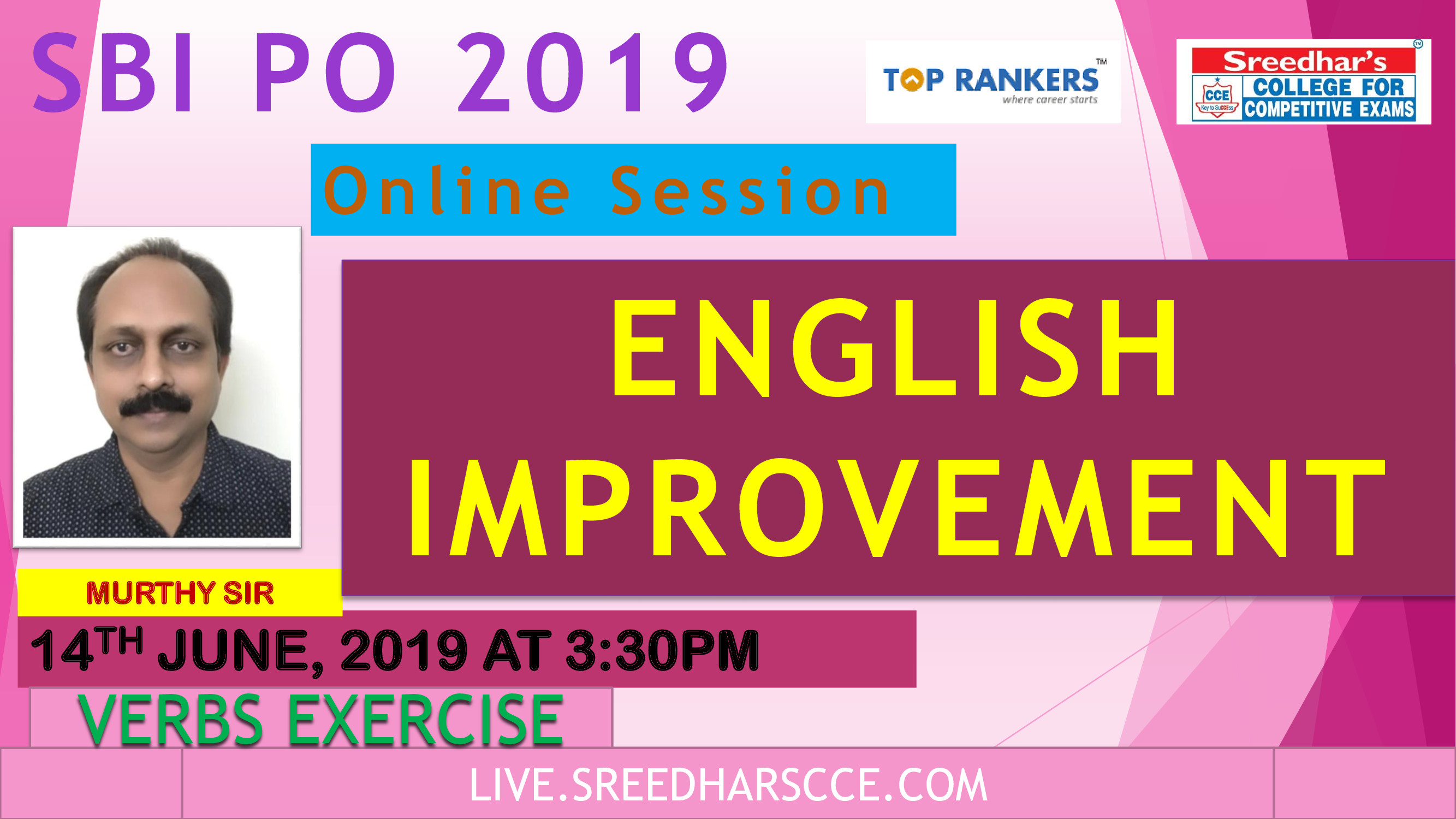 Class Session 6 Eglish Improvement | By Murthy Sir