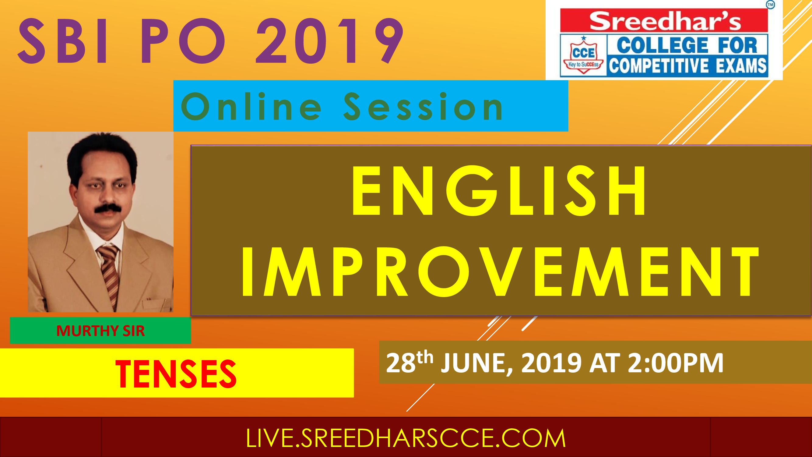 Class Session 16 English Improvement | By Murthy Sir ( Perfect Tenses )