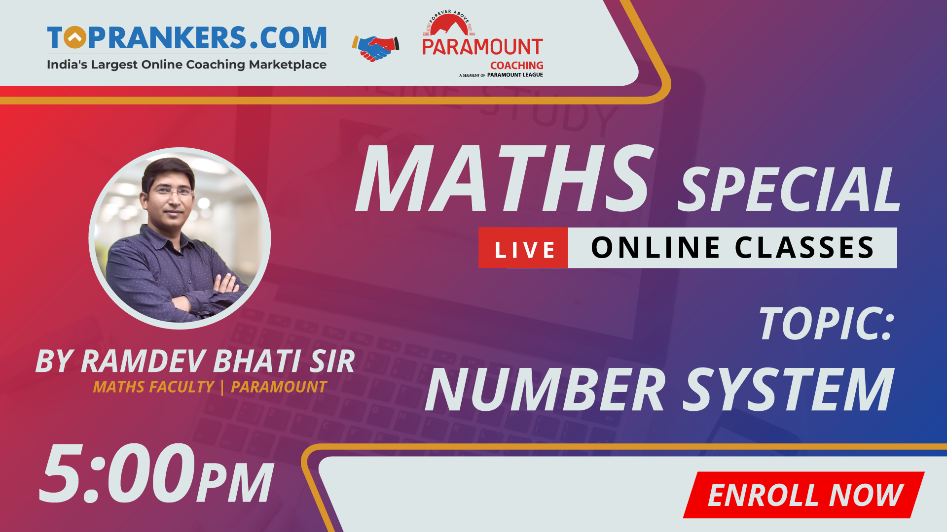 Session 02 | NUMBER SYSTEM  | By Ramdev Bhati Sir