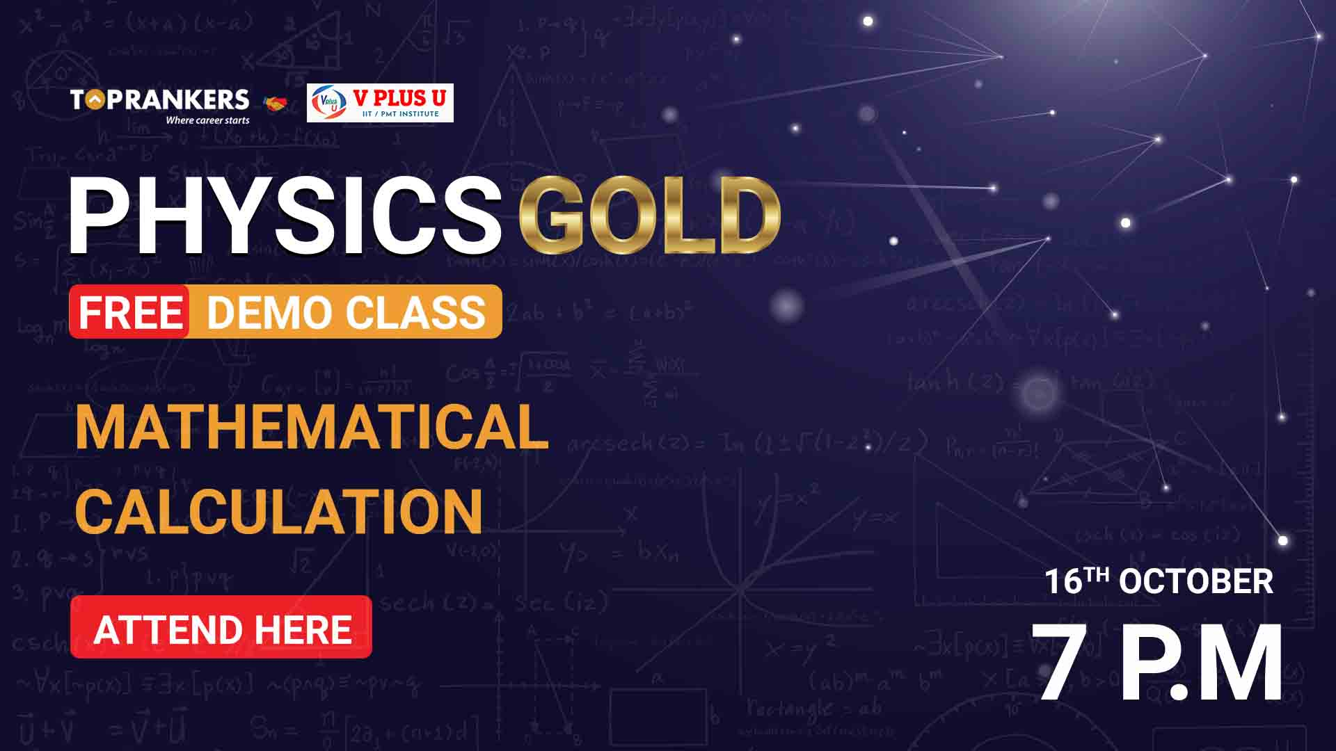 Session 02 | Mathematical Calculation | Physics Gold (Free)