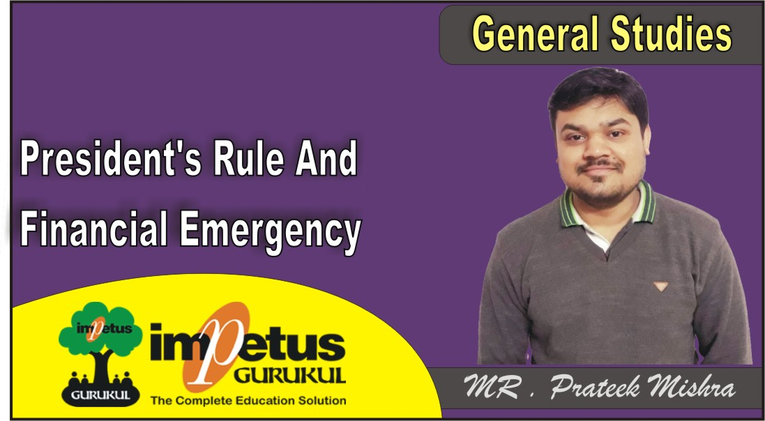 President's Rule And Financial Emergency