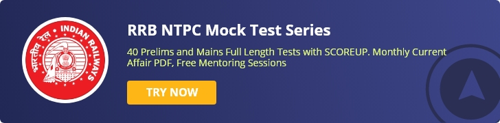 RRB NTPC Mock Tests
