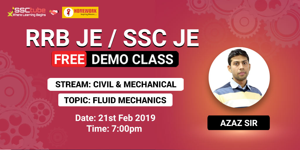 Demo Session 3 | SSC JE Civil & Mechanical | By Homework