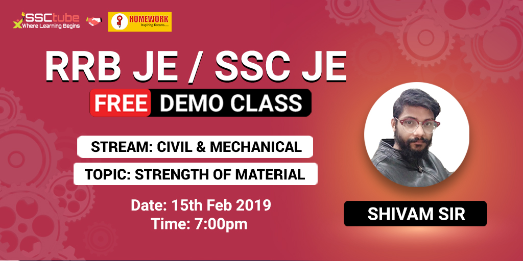 Demo | SSC JE Civil & Mechanical | By Homework