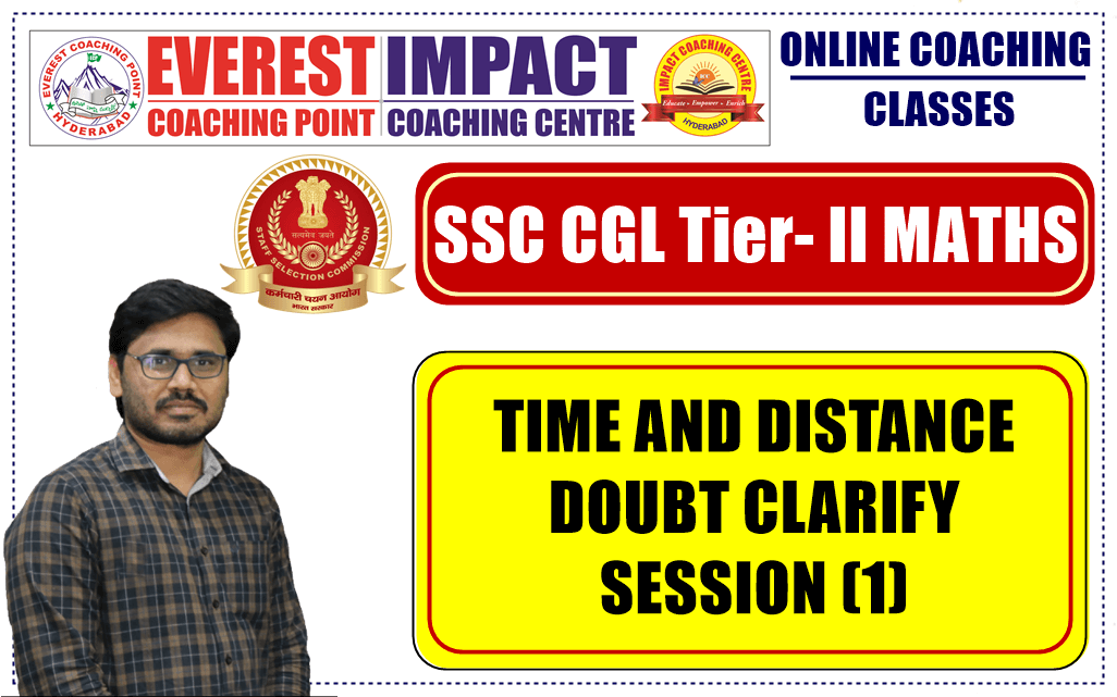 TIME AND DISTANCE DOUBT CLARIFY SESSION (1)