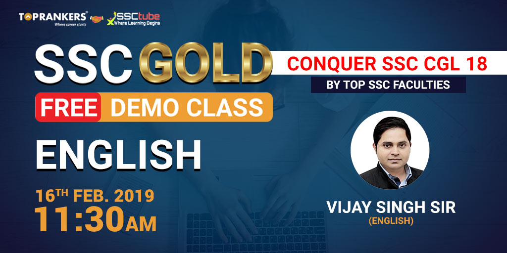 Demo | Session 3 English | By Vijay Sir