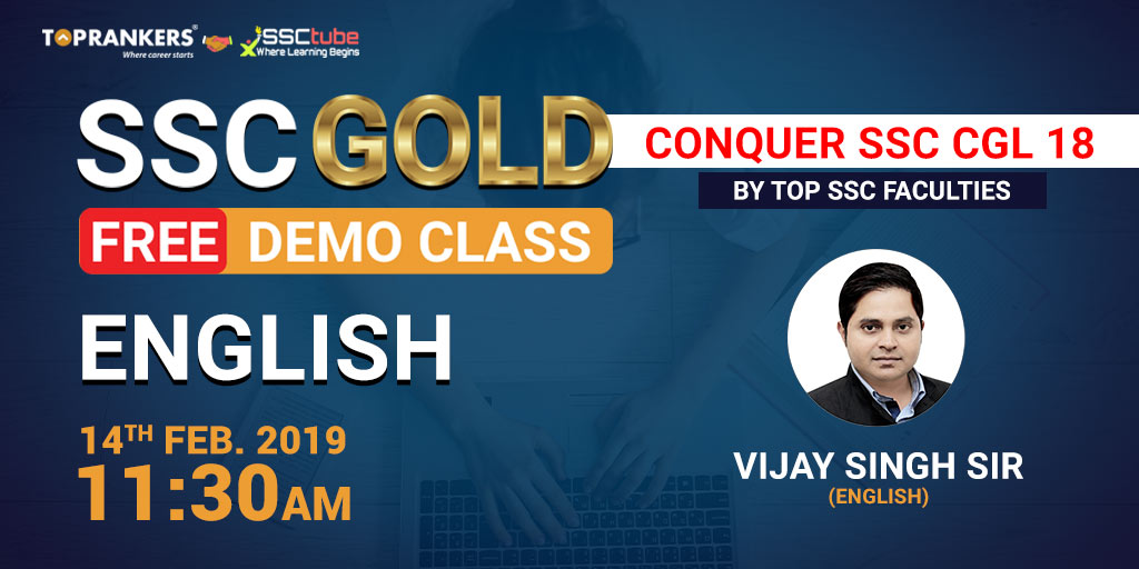 Demo | Session 1 English | By Vijay Sir
