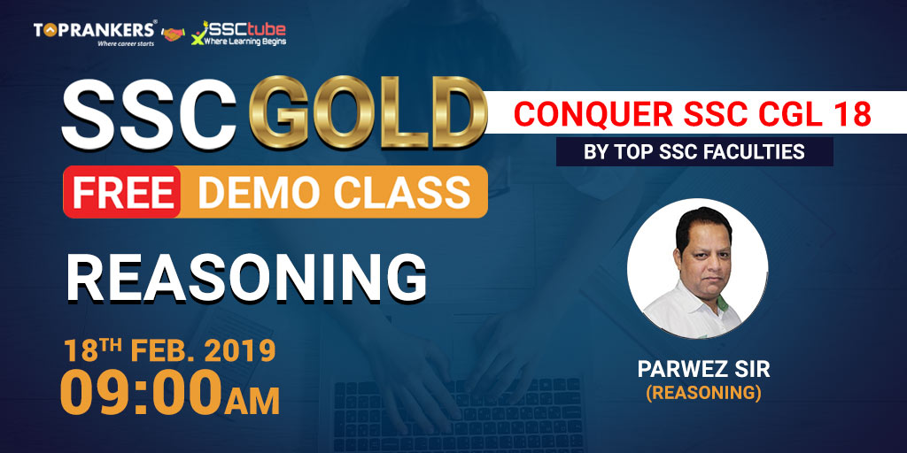Demo | Session 1 Reasoning | By Parwez Sir