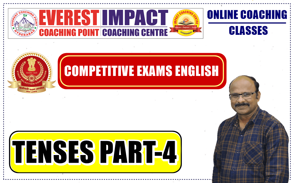 SESSION - 10 | TENSES PART - 4