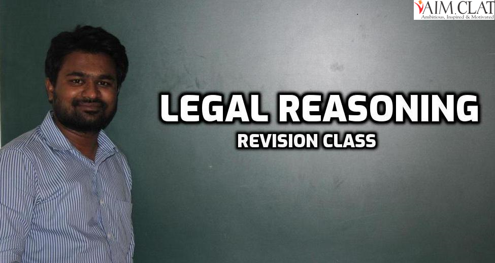 Legal Reasoning Class - 7