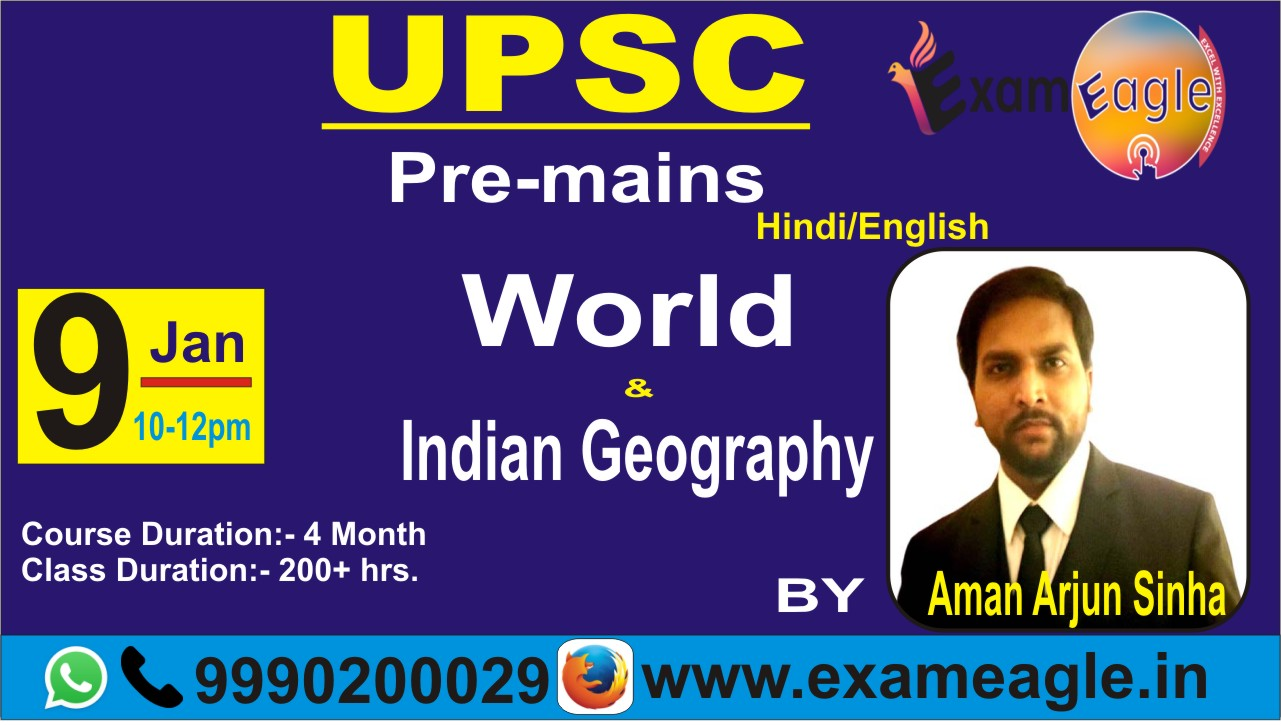 CLASS - 2 || DEMO-Geography || TOPIC - Drainage Systems & Patterns || by Aman Arjun Sinha sir