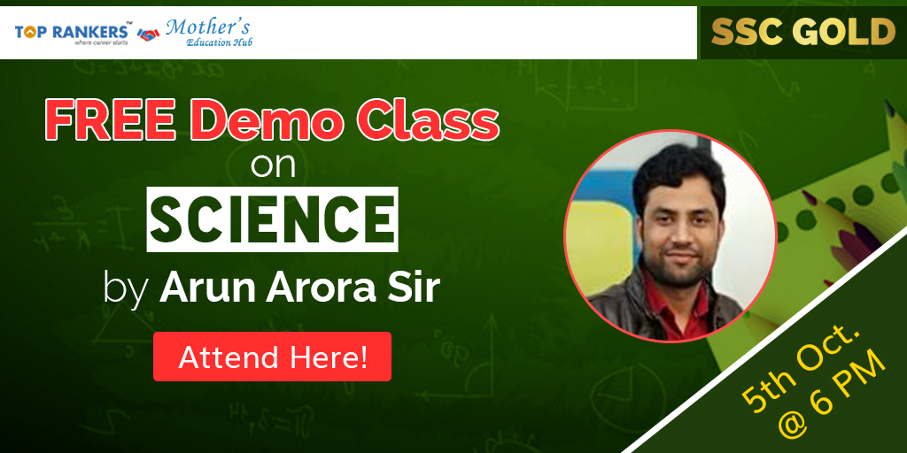 General Introduction Of Science by Arun Arora Sir | SSC Gold