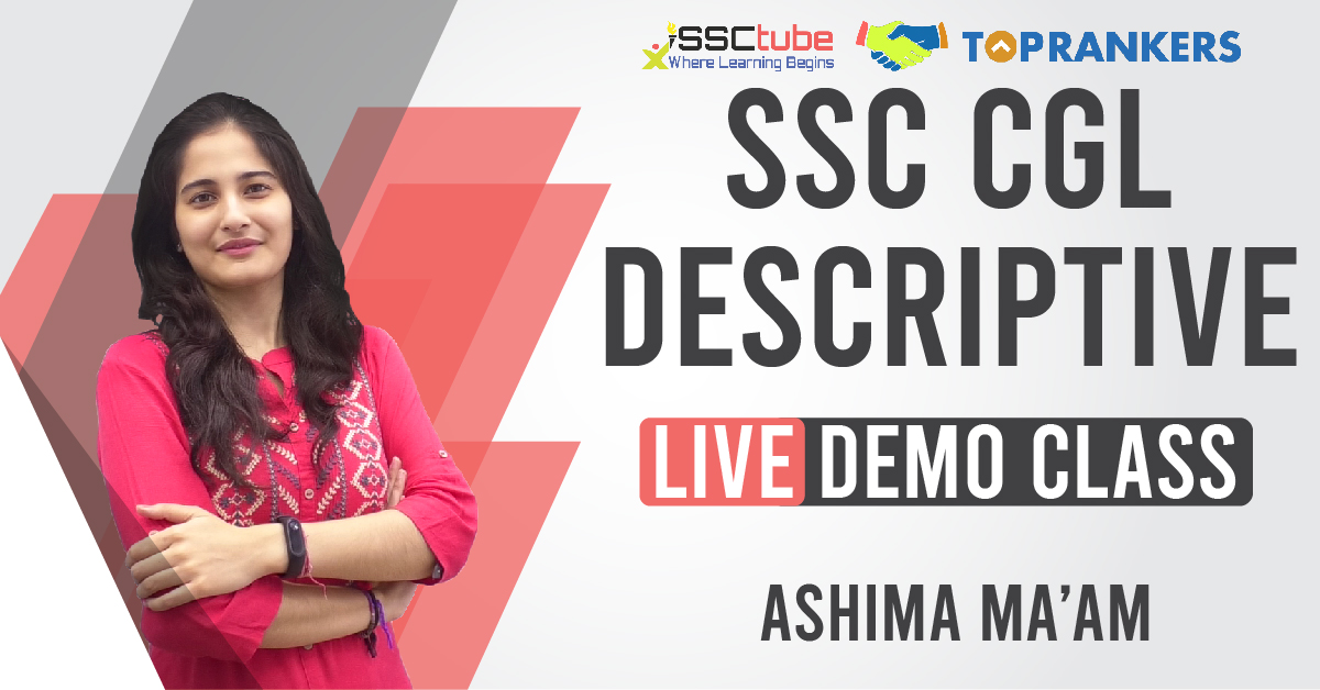 Demo Session 02 | CGL Descriptive | Ashima Ma'am