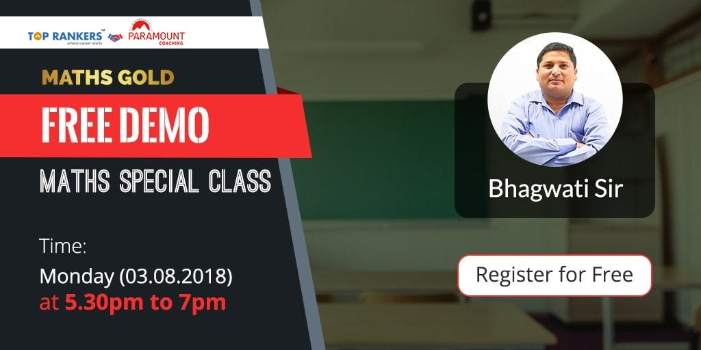 Maths Special Class by Bhagwati Sir