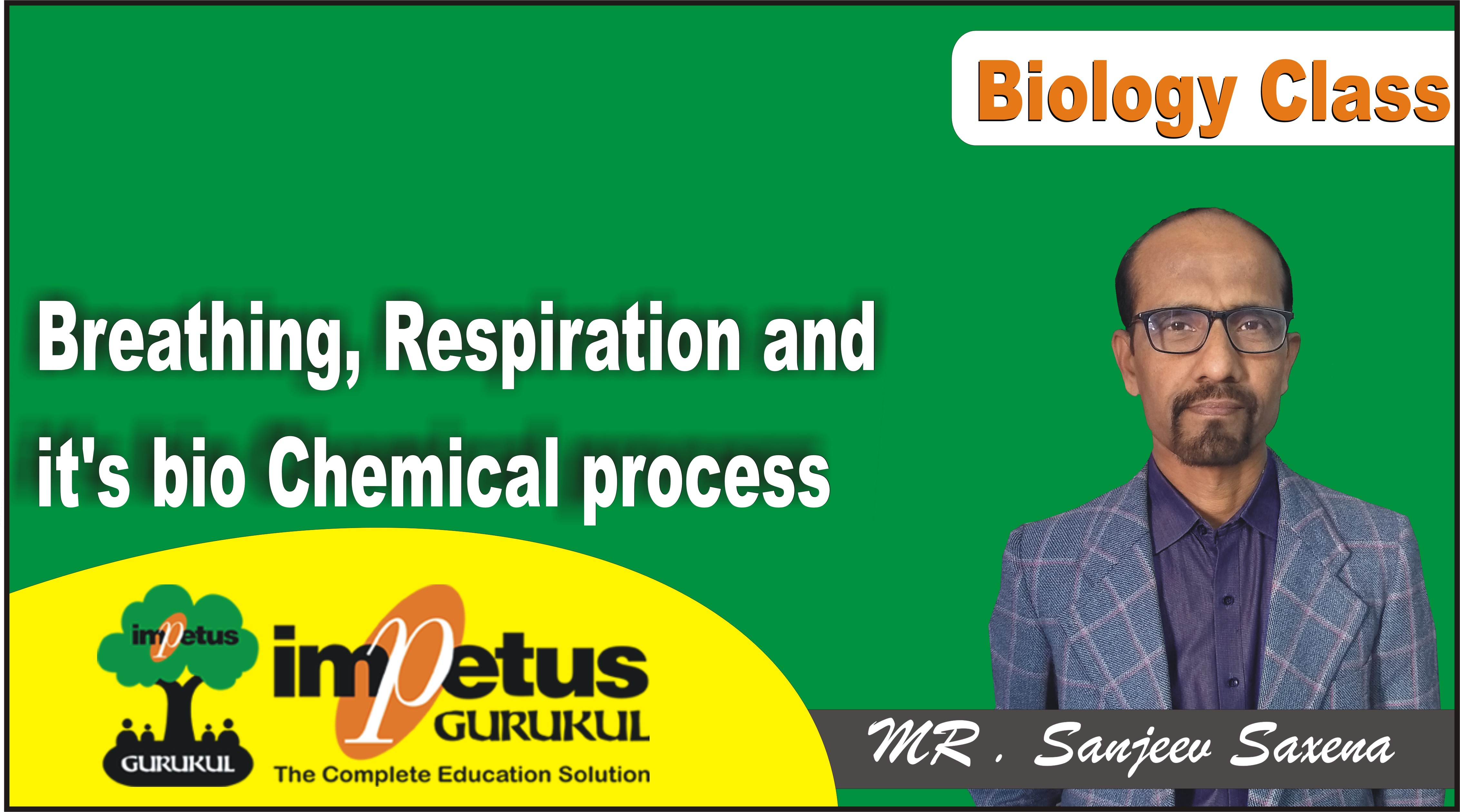 Breathing, Respiration and it's bio Chemical process