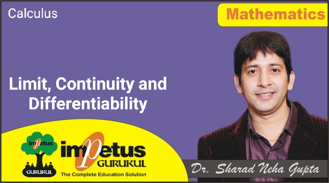 Calculus(Limit, Continuity and Differentiability) - 05