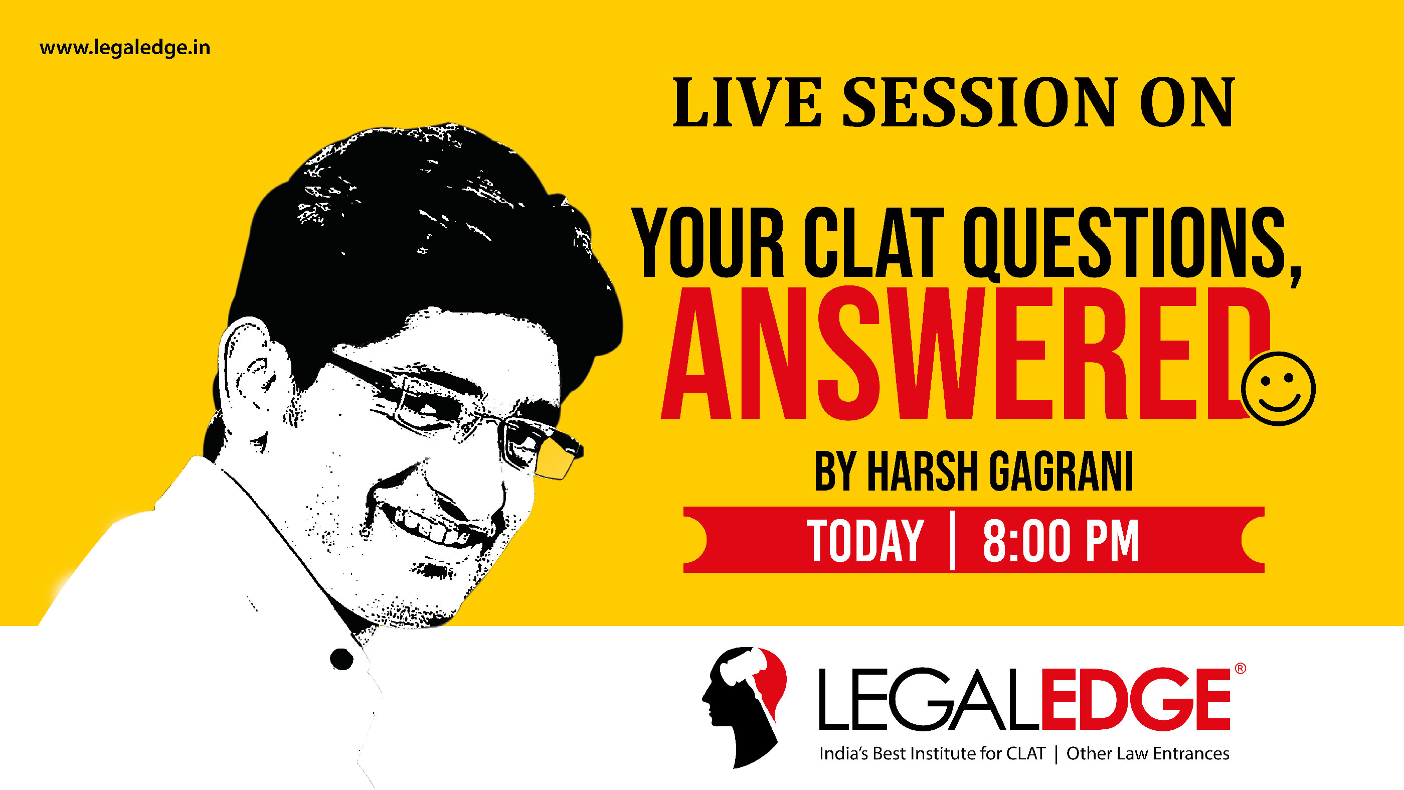 YOUR CLAT QUESTIONS ANSWERED BY HARSH GAGRANI