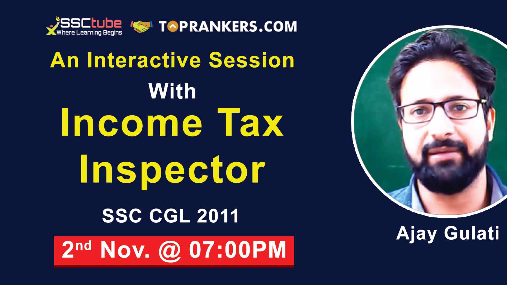 Interactive Session with Income Tax Inspector Mr. Ajay Gulati