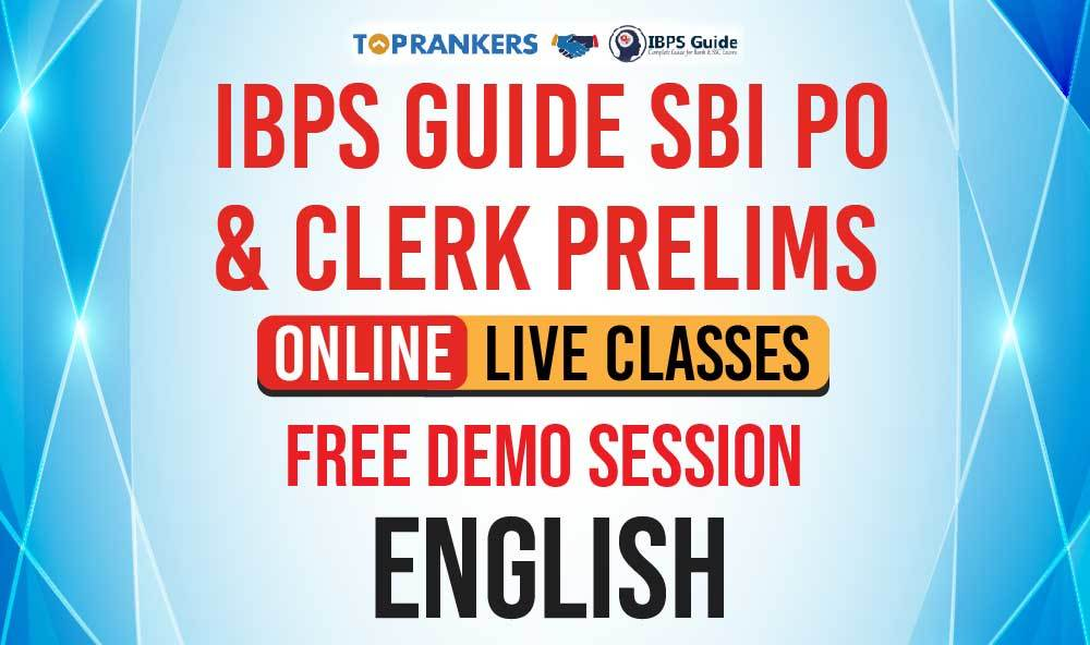 English - Santosh Sir - Free Session - IBPS GUIDE