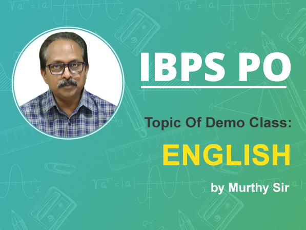 IBPS PO l English Demo Session-01 1015455