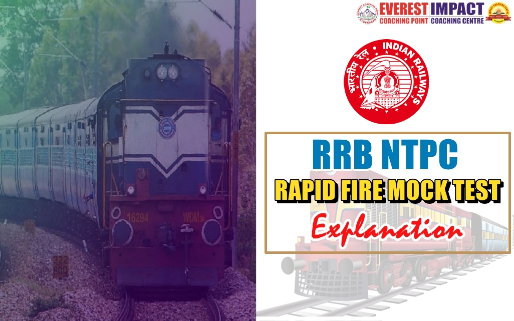 RRB NTPC Reasoning   Rapid Fire Mock Test - 20 EXPLANATION