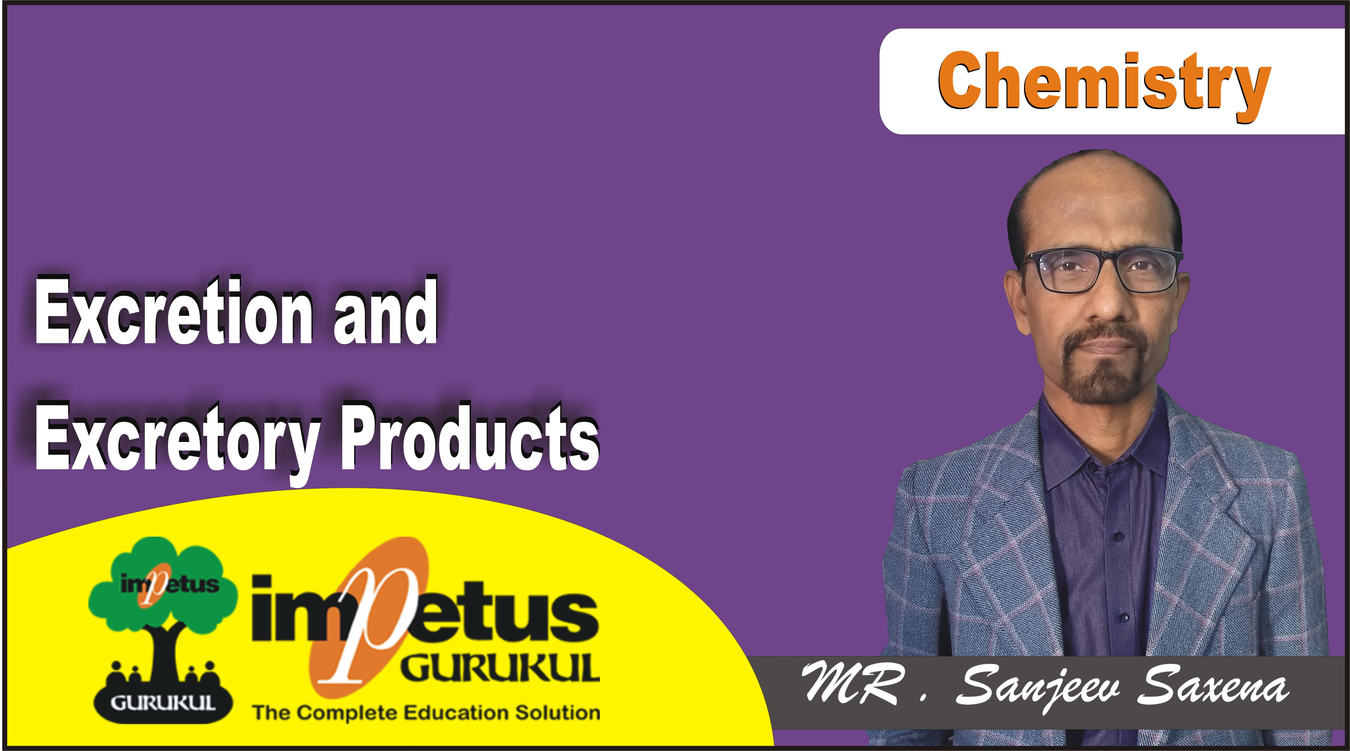 Excretion and Excretory Products