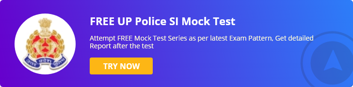 UP SI Mock test Series