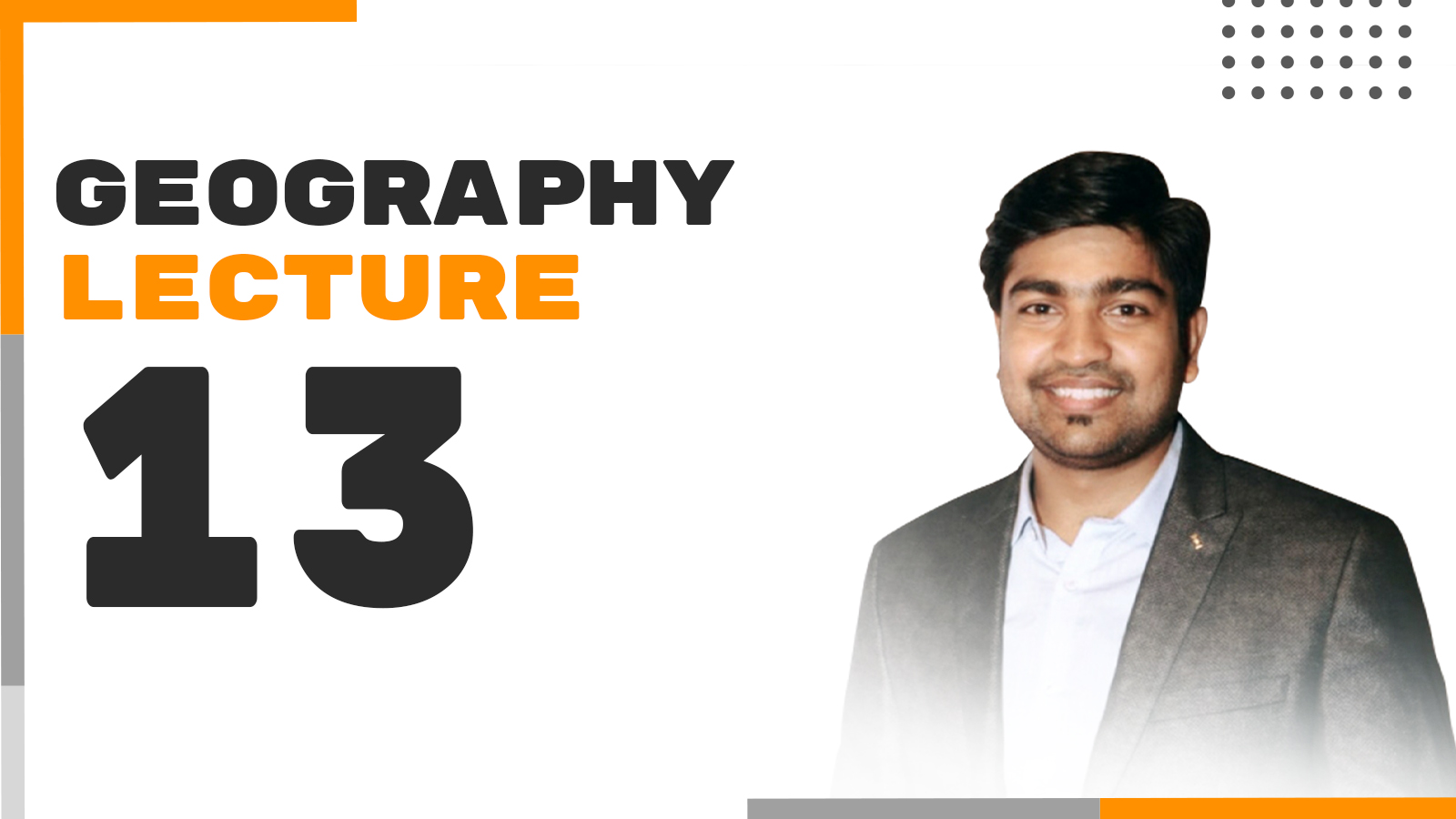 Geography Lecture 13