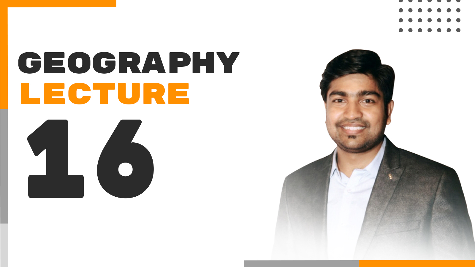 Geography Lecture 16