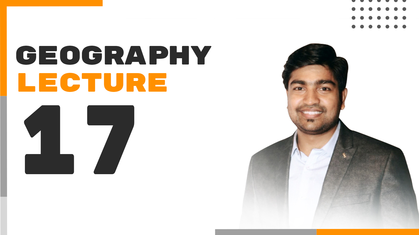 Geography Lecture 17