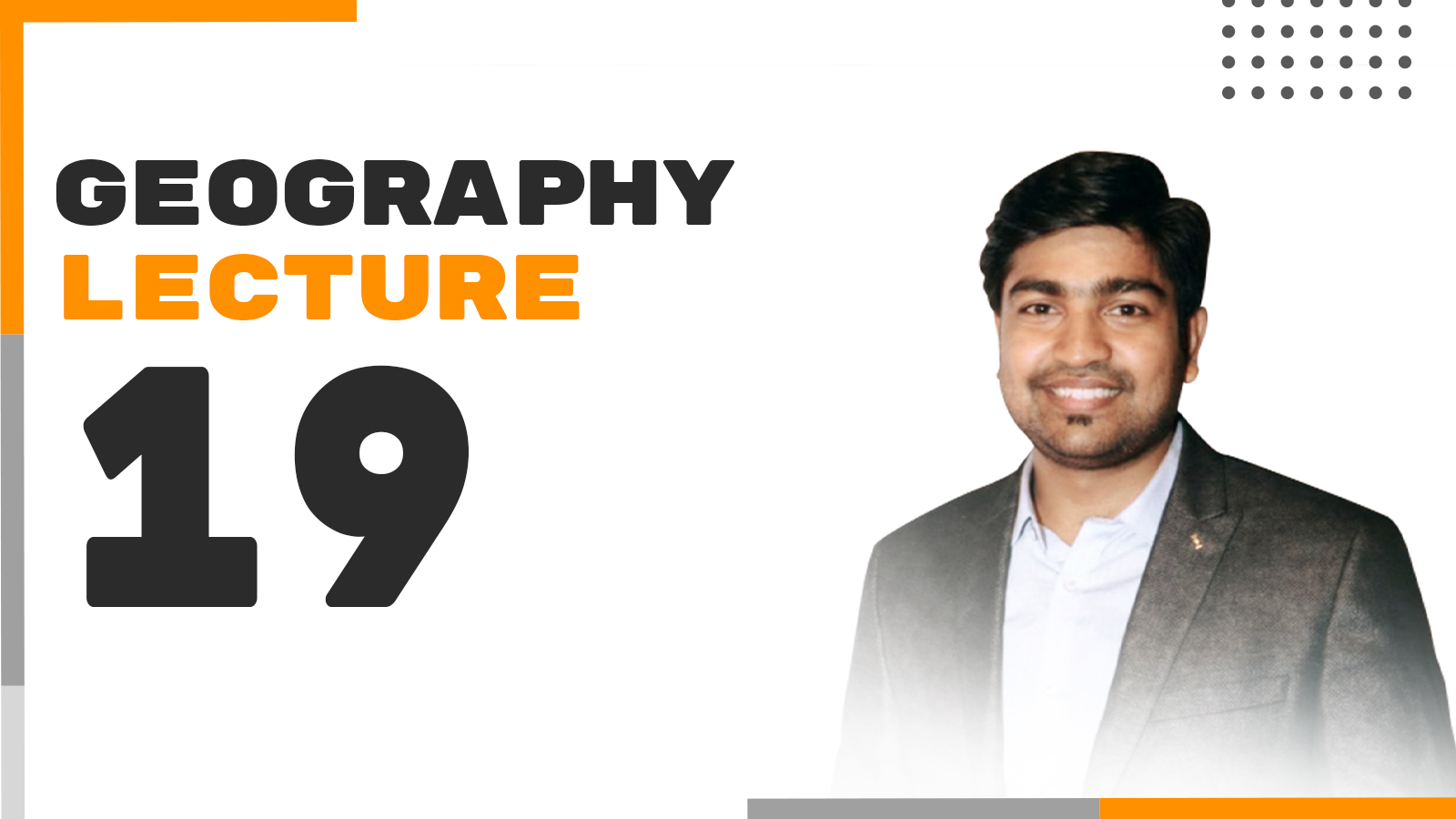 Geography Lecture 19