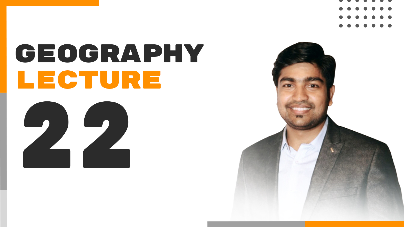 Geography Lecture 22