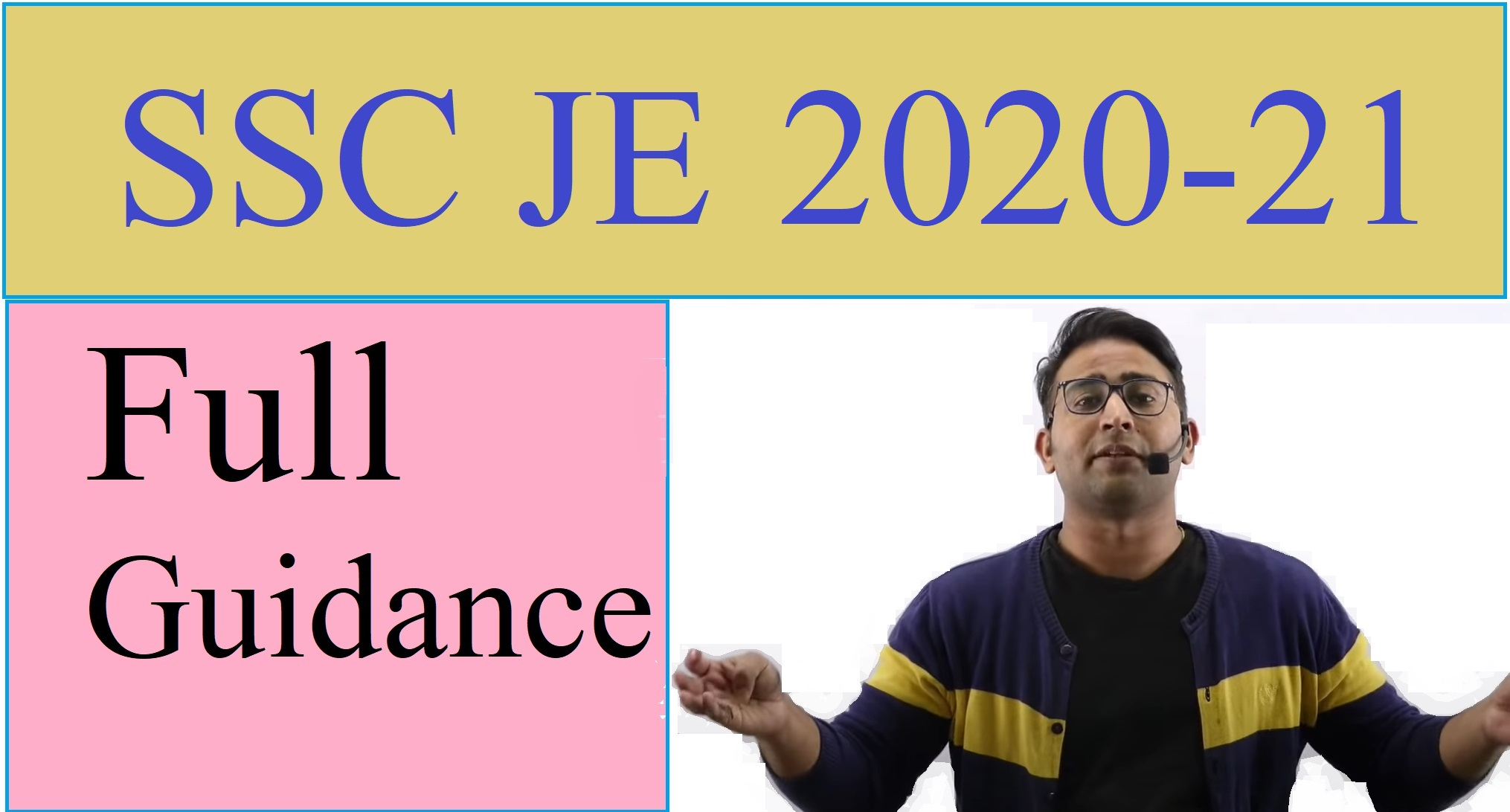 Introductory Session for SSC JE 2020-21